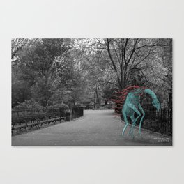 Unseen Monsters of New York - Zaftig Fernticle Canvas Print