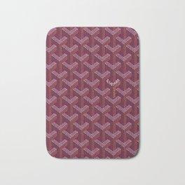 Goyard Purple Bath Mat