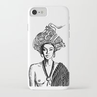 goddess iPhone & iPod Cases featuring Goddess by Fen_A