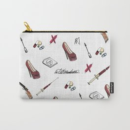 #pattern starter pack of a rude girl. Carry-All Pouch