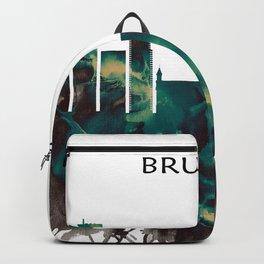 Brussels Skyline Backpack