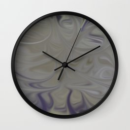 Smudged Colours 16 Wall Clock