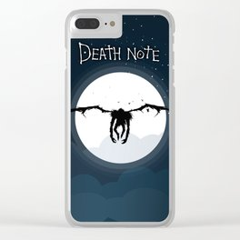The god of death Clear iPhone Case