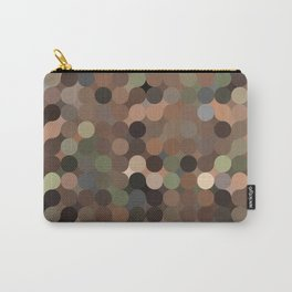 maija - variegated soft earth tone abstract pattern Carry-All Pouch