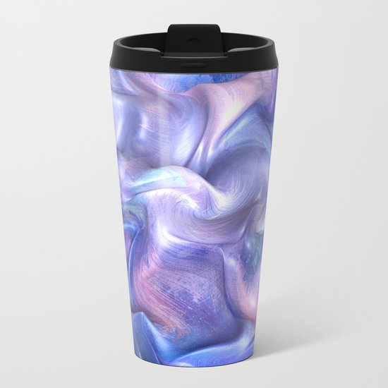 Smooth Paint Metal Travel Mug