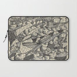Rolling with the Wind Laptop Sleeve