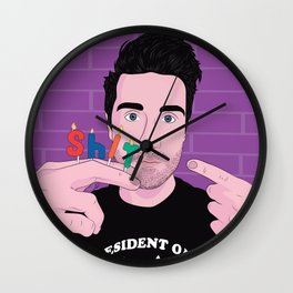 "Dan ""Shit"" Smith - Bastille Wall Clock"