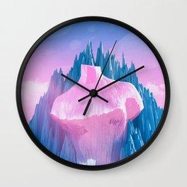 Mount Venus Wall Clock