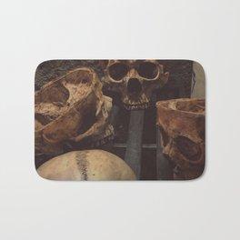 Catacomb Culture - Human Skull Basement Bath Mat
