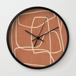Abstract line art 22 Wall Clock