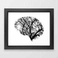 Brain Tree Framed Art Print