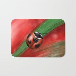 Lady bug Bath Mat