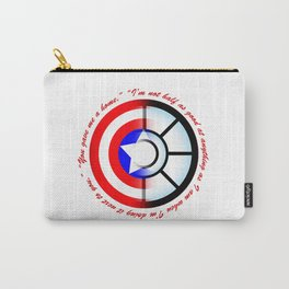 SteveTony - Encircling Quotes Carry-All Pouch