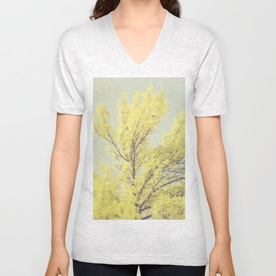 Yellow Tree Unisex V-Neck