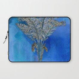 Blue Palm Laptop Sleeve