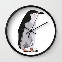 Chinstrap Penguin Wall Clock