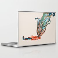 octopus Laptop & iPad Skins featuring Octopus in me by Huebucket