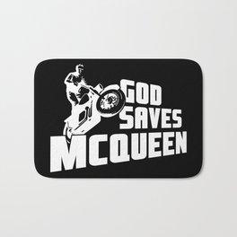 God saves McQueen Bath Mat