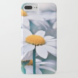 Marguerite blue 032 iPhone Case