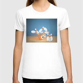 bowlling eye T-shirt