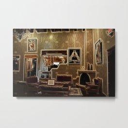 Adobe Lobby Metal Print