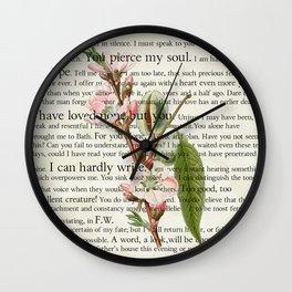 Persuasion Wall Clock