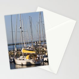 Sailboat Marina - Warnemünde - Baltic Sea Stationery Cards