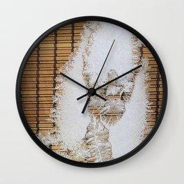 Ice 5   Glace 5 Wall Clock