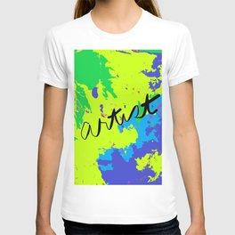 Artist's Paint Drop Cloth T-shirt