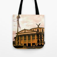 colombia Tote Bags featuring Colombia is my country! by Alejandra Triana Muñoz (Alejandra Sweet
