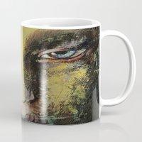 shiva Mugs featuring Shiva by Michael Creese