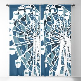 Around the Ferris wheel Blackout Curtain