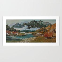 A Grand Gesture Art Print