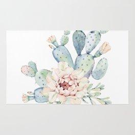 Perfect Cacti Rose Rug