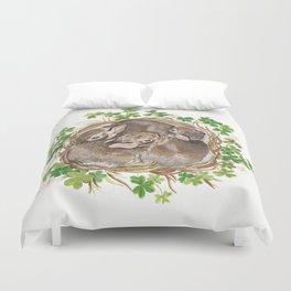 Bunny Nest Duvet Cover