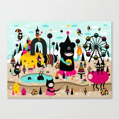 A joyful time! Canvas Print