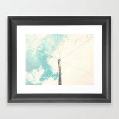 Sky I Framed Art Print