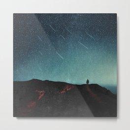 night of falling stars Metal Print