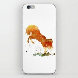 HORSES -Wild mountain pony iPhone Skin