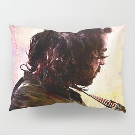 Mandolin Player Pillow Sham