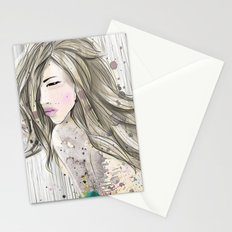 women_colors Stationery Cards