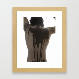 Chocolate Shower Framed Art Print