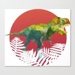 Party Tyrannosaurus Rex Canvas Print