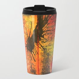 Symphony In Red Travel Mug