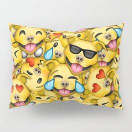 Pitbull Pattern Yellow Pillow Sham
