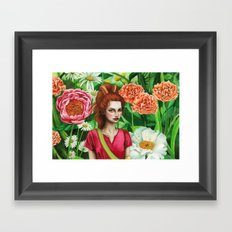 The Borrower Arrietty Framed Art Print