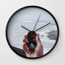 Navigate Compass (Color) Wall Clock