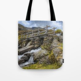 Lynn Idwal Bridge Tote Bag