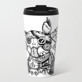 Steampunkachu Metal Travel Mug
