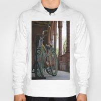 bikes Hoodies featuring Bikes by Photaugraffiti